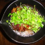 """Gyu Negima """"Stone-fired dry-aged Prime Fillet Mignon"""