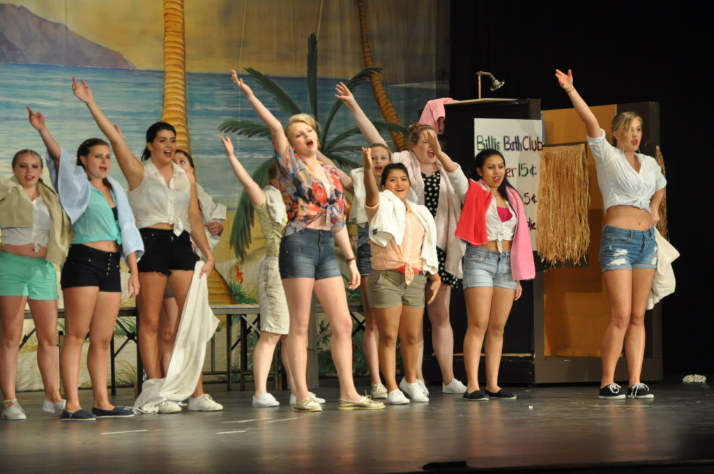 East Hampton High School's South Pacific