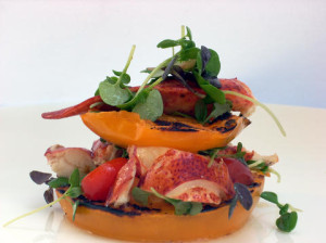 lobstersalad @ Oso restaurant