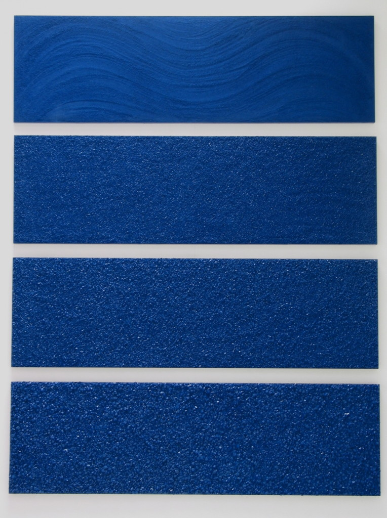 Ocean, 1996 (4 panels, 24 x 80 inches each)