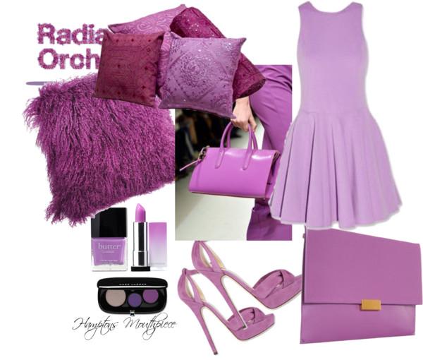 Radiant Orchid Pantone 2014 Color
