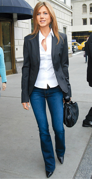 jennifer-aniston-in-a-white-button-down-shirt-jeans-bottega-veneta-black-hobo-pinstriped-blazer-pointed-toe-shoes-leaf-necklace.jpg