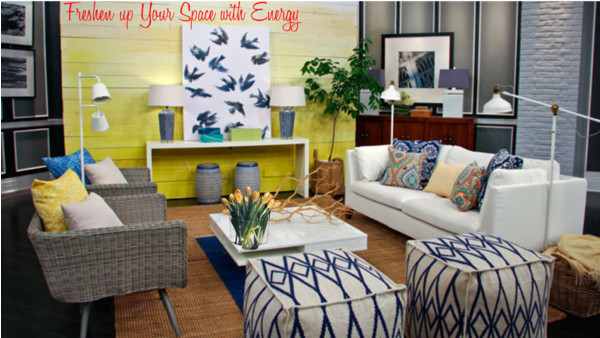 Freshen up your space with a burst of energy