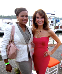 Alaina Simpson & Susan Lucci @ Bay Street Gala 2013