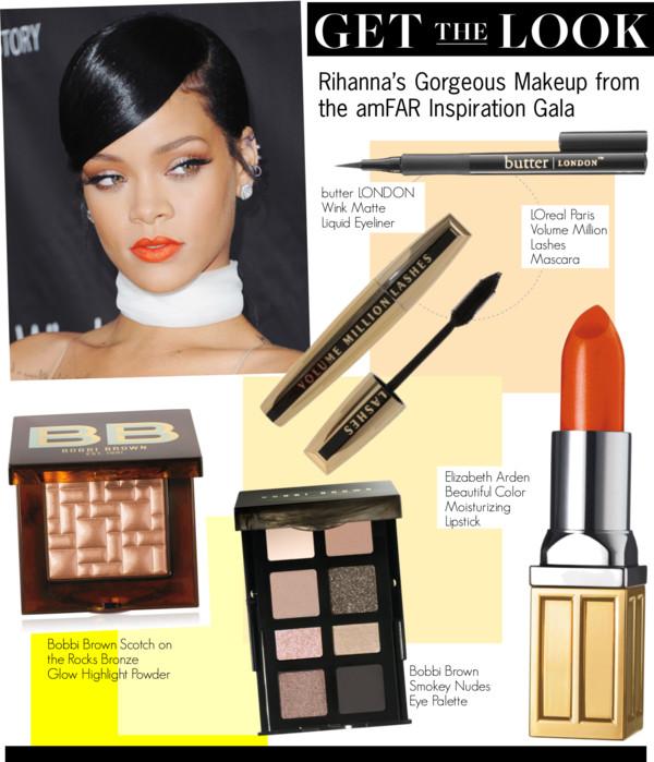 Get The Look-Rihanna's Gorgeous Makeup