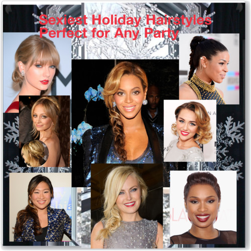 Sexiest Holiday Hairstyles Perfect for Any Party