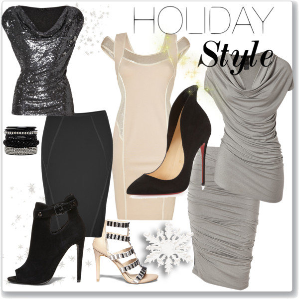 Holiday Style wearing Donna
