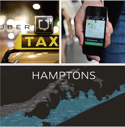 Did you know Uber has flat rates from NYC to Long Island